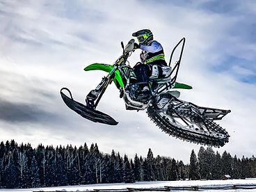Paul Thacker PT11 Winter X 2020 Practice at Arrowhead Mountain Lodge in Cimarron Colorado