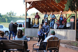 LiveMusic in the beer garden at Arrowhead Mountain Lodge