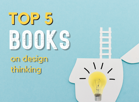 Top 5 Books on Design thinking