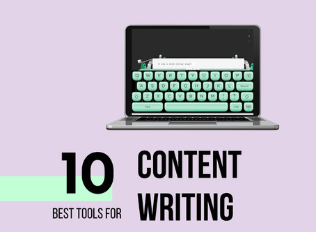 Best Tools and Tips for content writing
