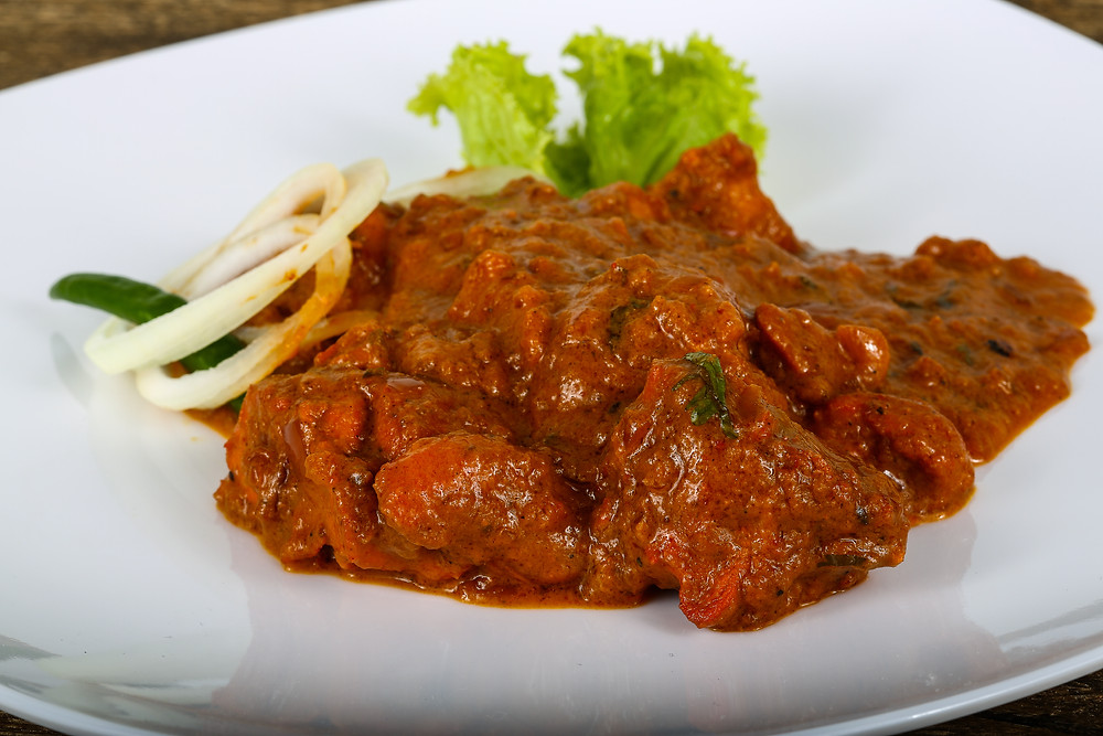 Achari Gosht from Aqua, The Kwality's Shiraz