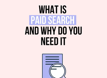 What is paid search (PPC) and why do you need it?