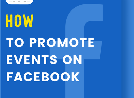 Promote Event on Facebook
