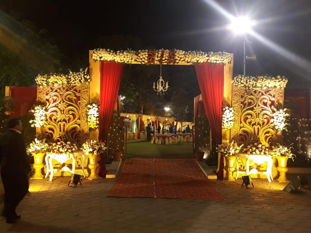 Wedding recption at the Shiraz