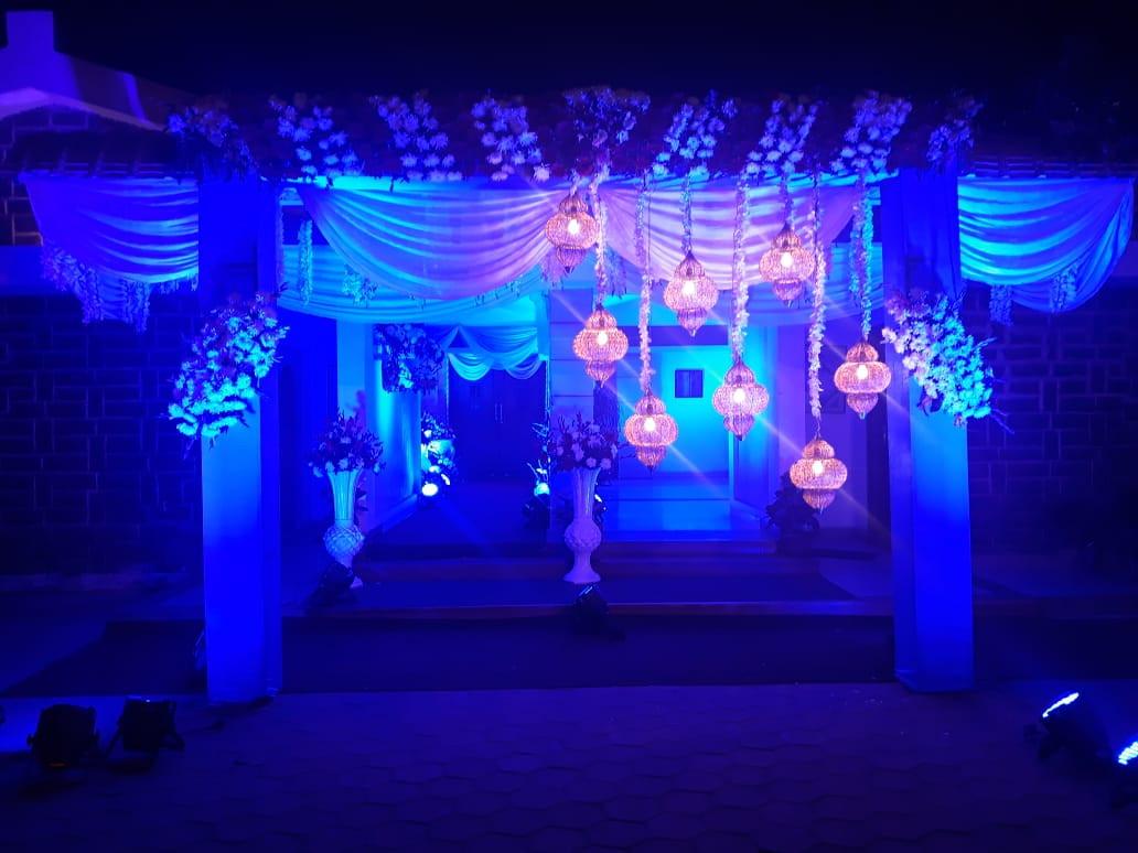 Wedding lights at The Shiraz