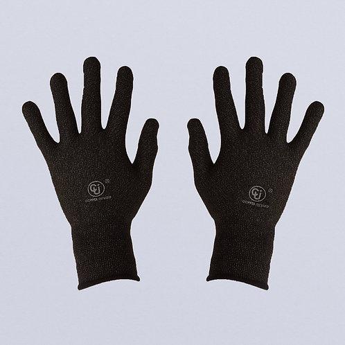 Guantes con tejido de cobre (Negro cobre)