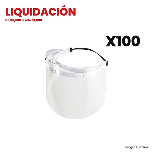 Kit 100 Caretas Pet (Liquidación)