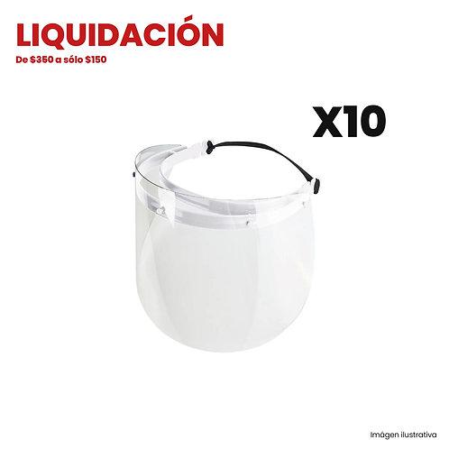 Kit 10 Caretas Pet (Liquidación)