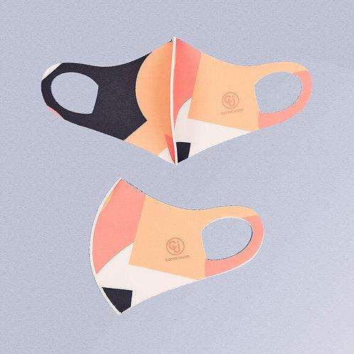 Cubrebocas tejido de cobre (Rosa sport)