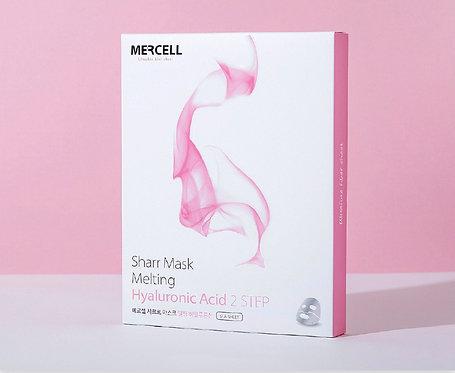 Caja con mascarilla de ácido hialurónico Mercell (Ahorra 10%)