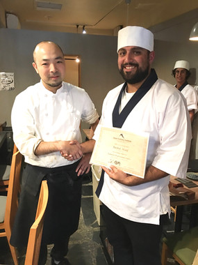 JCI Yakitori professional Course certifi