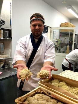 Ramen Noodle Making