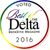 Voted 2016 Best of the Delta