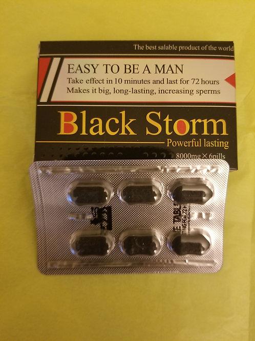 Black Storm 6 pills