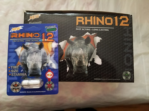 Rhino 12, No headache, time, size, stamina