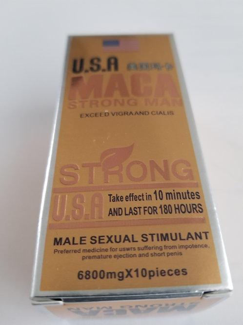 USA MACA  Strong  Pills, Quality guarantee,10 pills,