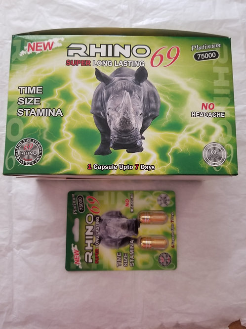 Rhinozen 69, Fast Acting Land lasting 48 pills