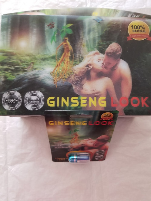 Ginseng Look. 24 Pills