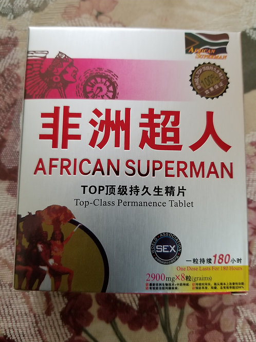 African Superman 8 pills
