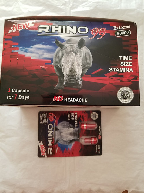 Rhino 99, Time Size Stamina 48 pills