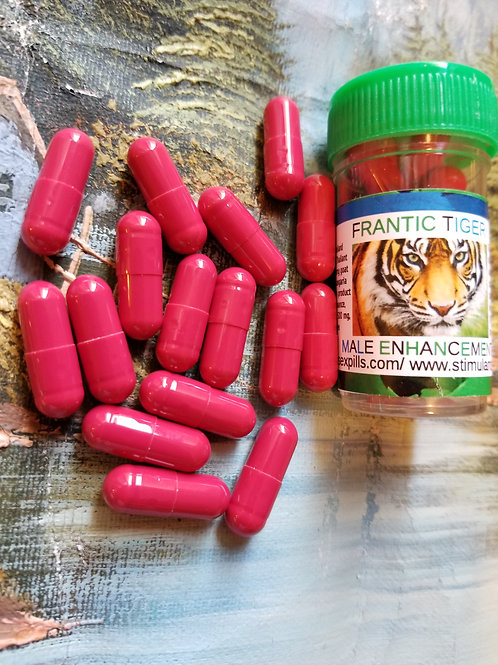 Frantic Tiger 500 mg; will improve sexual performance
