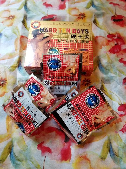 Hard Ten Days one small box 6 pills