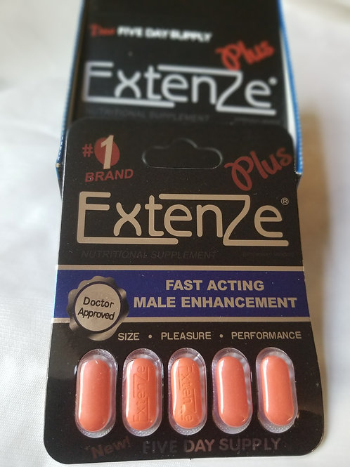 Extenze Plus sex pills; 60 pills