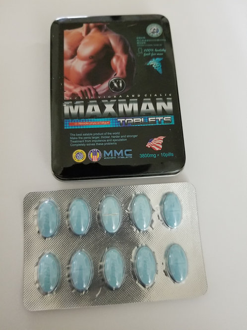 Maxman XI hard sex pills for man,