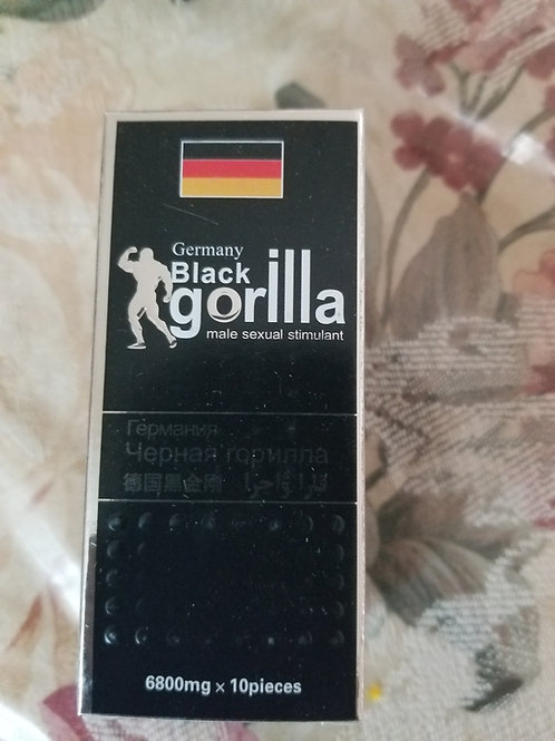 Germany black gorilla pills male sexual 10 pillstake orally with warm water, one