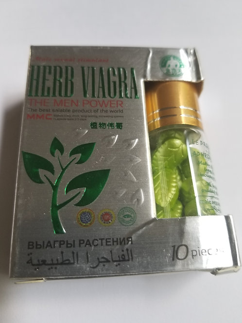 Herb Viagra 10 pills, The Men Power