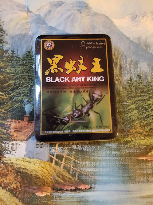 Black Ant King, one  small can 10 pills
