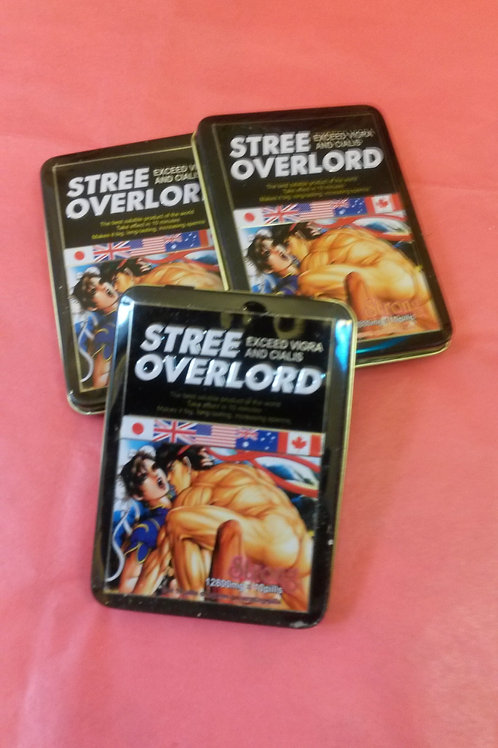 Stree Overlord 3 cans 30 pills