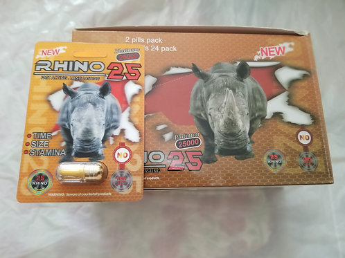Rhino 25 First Active. Long Lasting