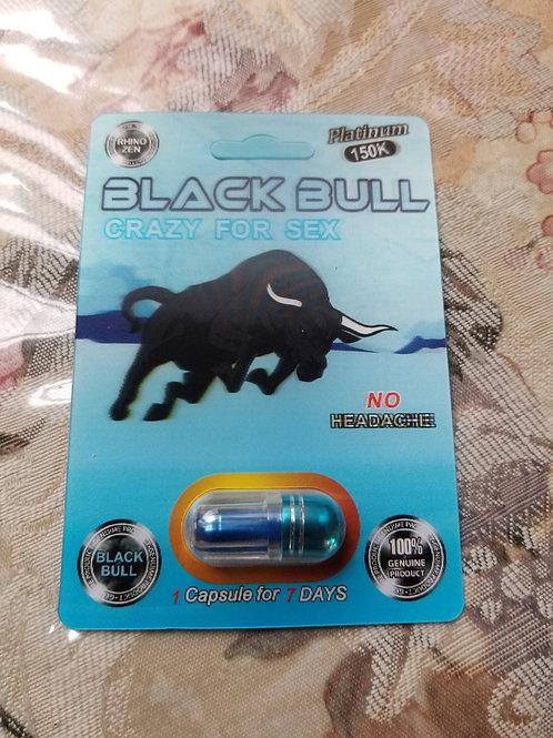 Black Bull one Capsule, No headache