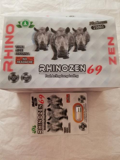 Rhinozen 69, Fast Acting Land lasting 24 pills