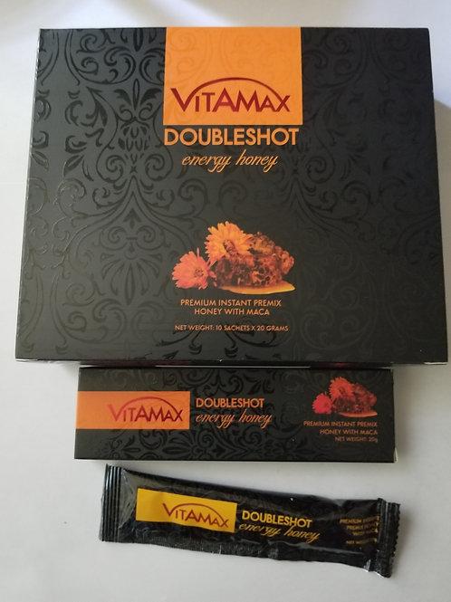 Vitamax Double shot Energy Honey,  10 sachet in box, 1 every 3 days
