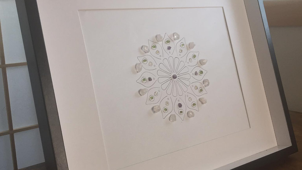 Flower Crystal Grid