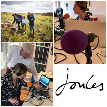 Joules - Podcast Serie & Editorial Content Calendar