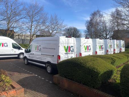 New vans hit the road