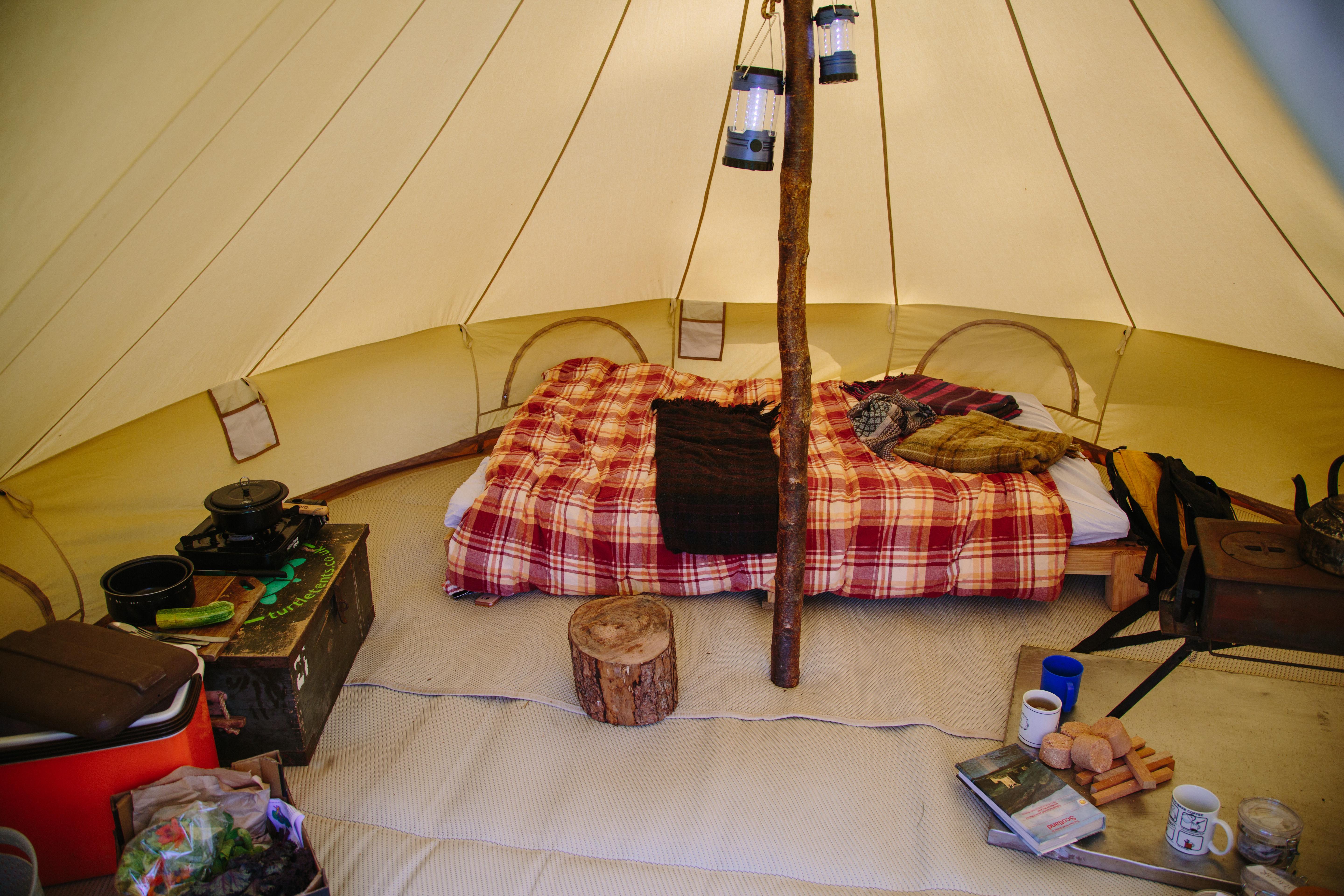 Couples tent