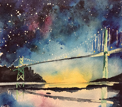 'Lions Gate Bridge'