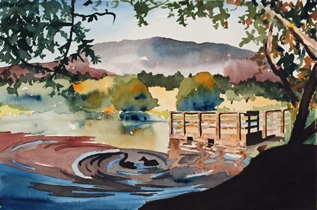 'Oak Glen Pond'