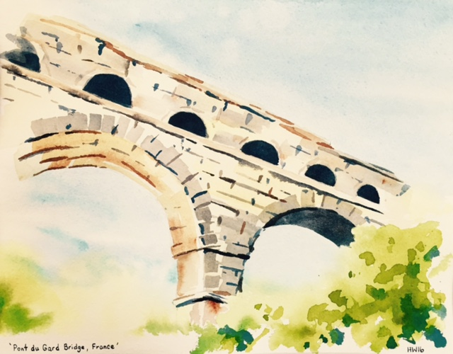 Pont du Gard Bridge France