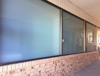 Central Coast Frosted Window Tinting