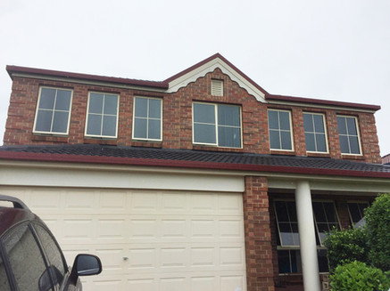 Two Story Window Tinting