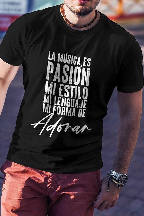T-shirt - La Musica es Mi Pasion
