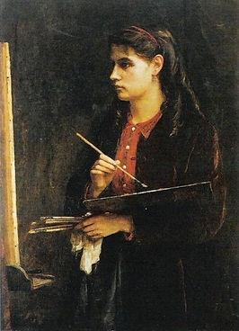 Portrait of Berthe Morisot - Edma Moriso