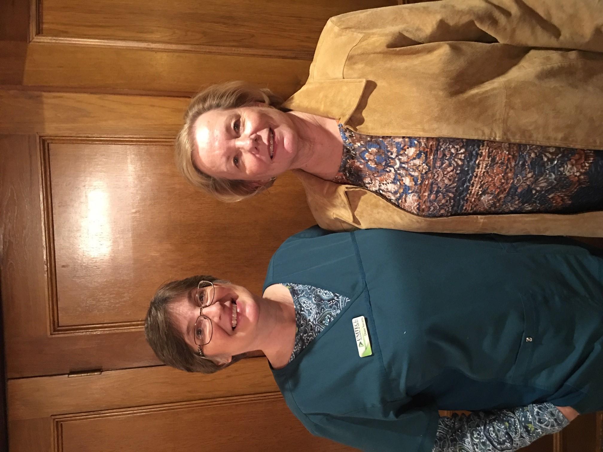 Jan Guests- Diane Navarre, Carolyn Wisma