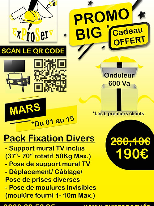 Pack Fixation divers