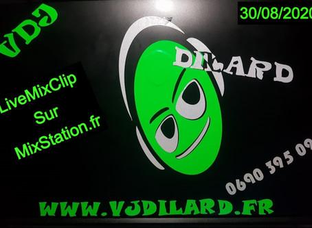 Live du 30 Aout 2020 sur MixStation.fr